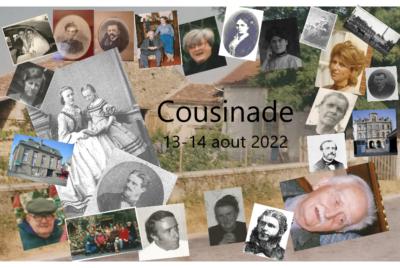 Cousinade des 13 et 14 août 2022